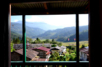 View from our lodge in Jiri.