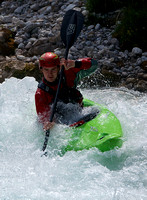 Sandy Douglas on the on the Rissbach river, Austria.